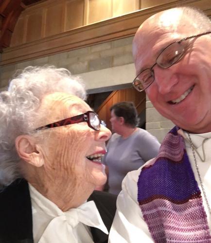 Hazel & Fr. John
